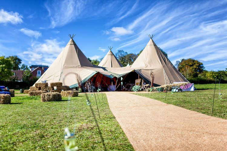 Where Can Tipis Be Pitched?  // Image By Kris Piotrowski Photography