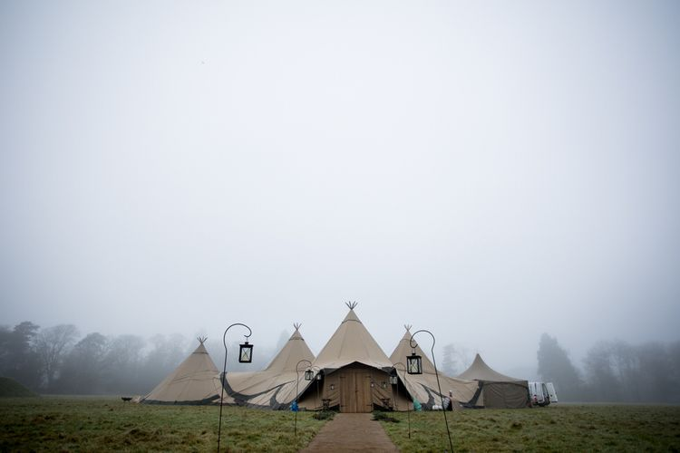 Winter Tipi Wedding  // Images By Richmond Pictures