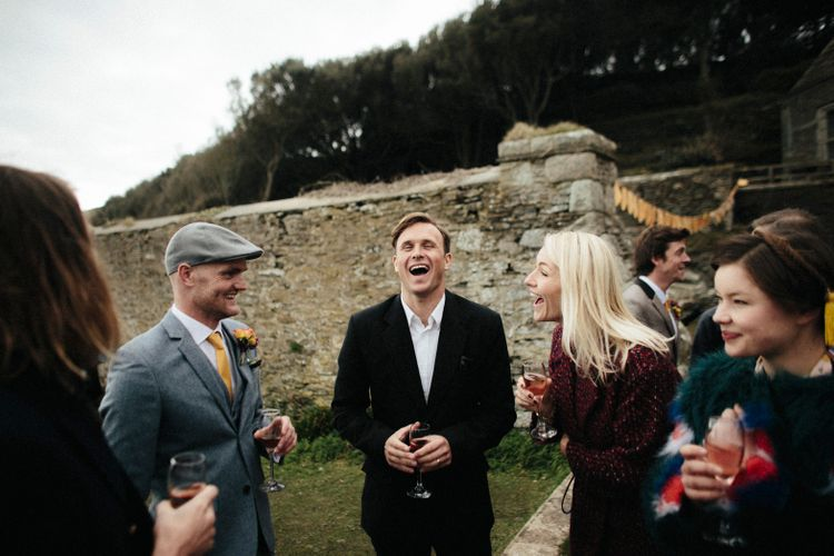 Moroccan Inspired Wedding By The Sea // Ben Selway Photography // Prussia Cove Cornwall