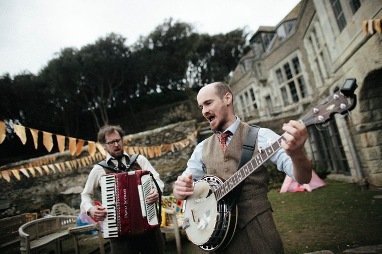 Live Music For Wedding // Ben Selway Photography // Prussia Cove Cornwall