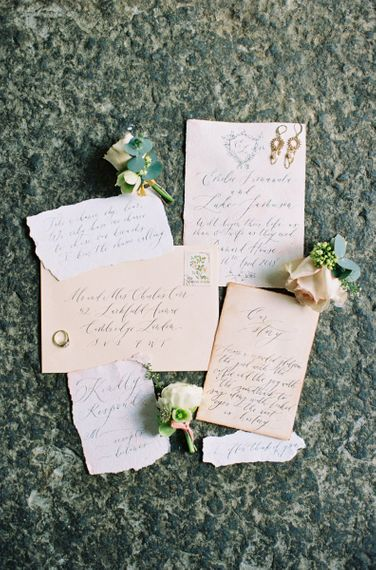 Calligraphy Wedding Stationery Suite