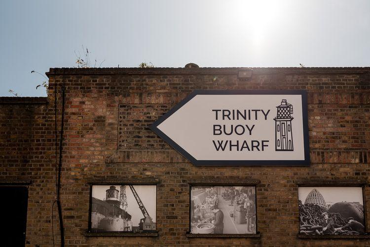 Trinity Buoy Wharf wedding venue in London