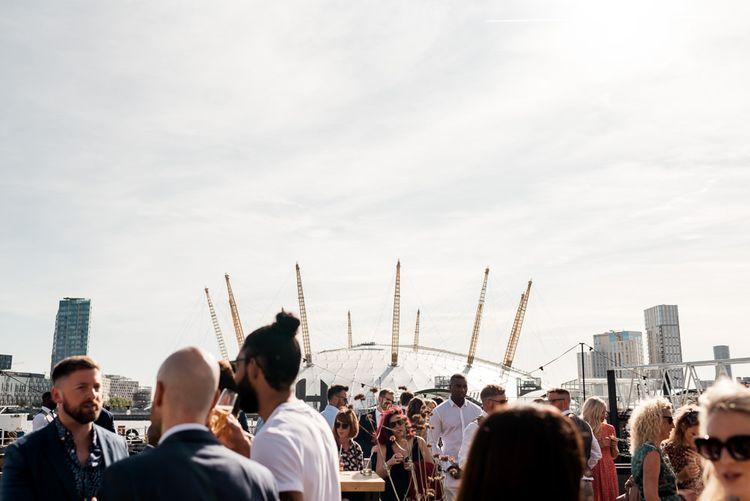 Trinity Buoy Wharf London wedding