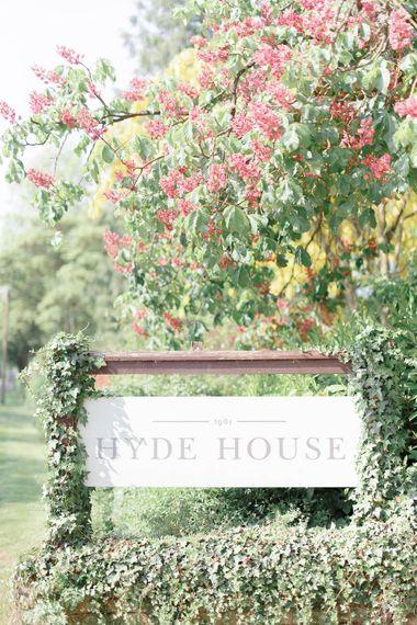 Hyde House Wedding Elegant Summer Wedding