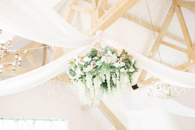 Floral Chandelier For Wedding