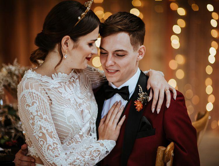 婚礼和红裙和红裙