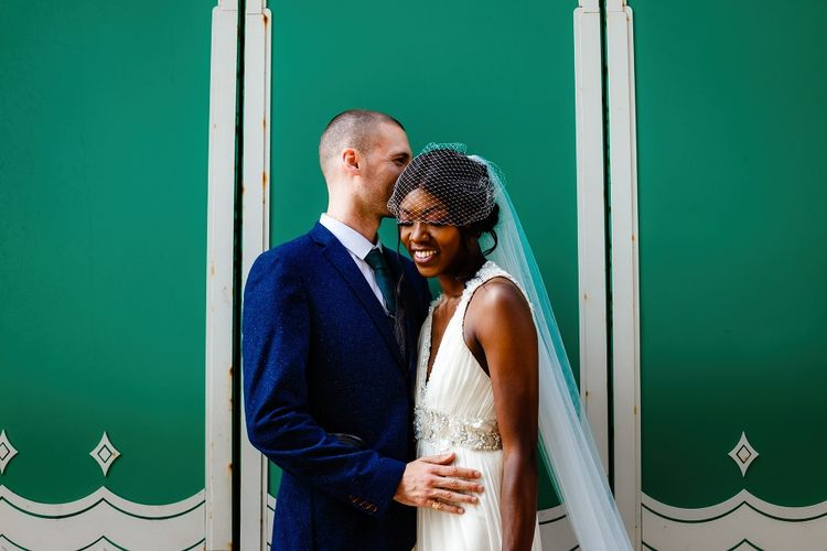 Intimate wedding portrait by About Today Photography