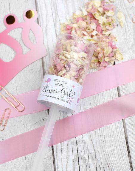 shropshire petals shropshire petals will you be my flower girl pop