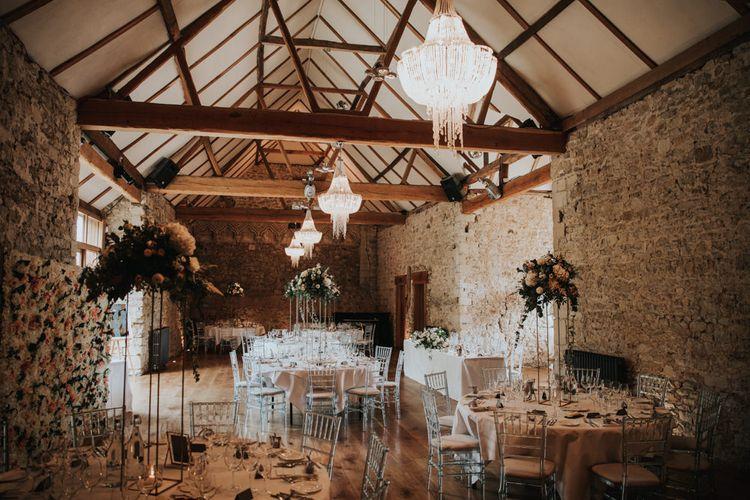 Small wedding at Notley Abbey wedding venue