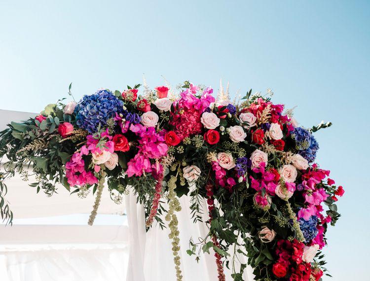 在婚礼上的婚礼装饰装饰