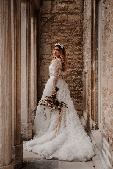 claire do monte weddings claire do monte styled shoot   look 1  45