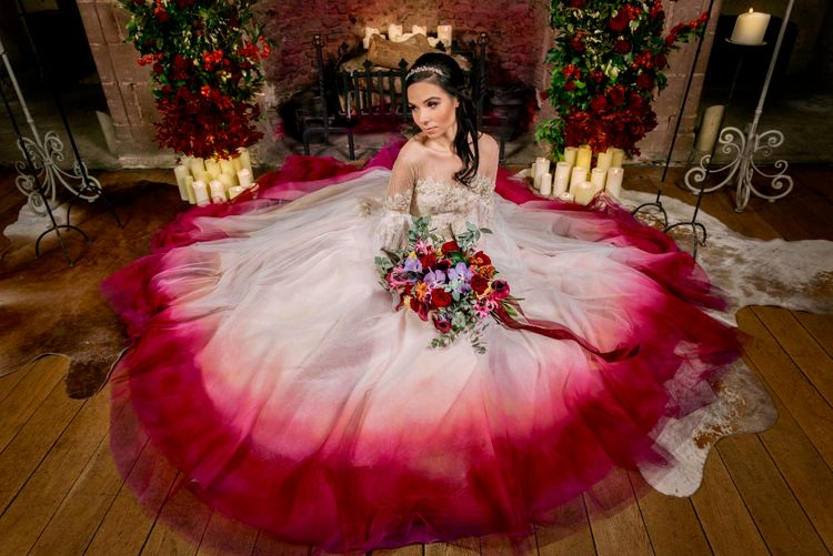so blooming beautiful deisgns styled shoot hedingham castle essex fireplace 4