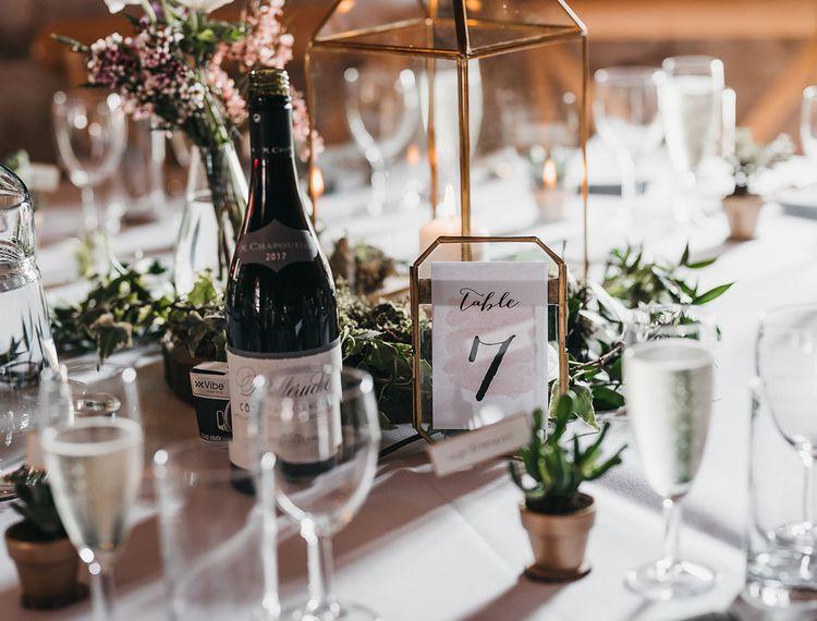 婚礼上的宴会厅