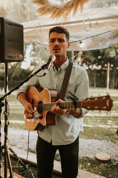 吉他手和歌手婚礼娱乐