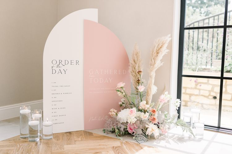 made by wood wood made by wood and wood wedding signage stationery decor hire 5