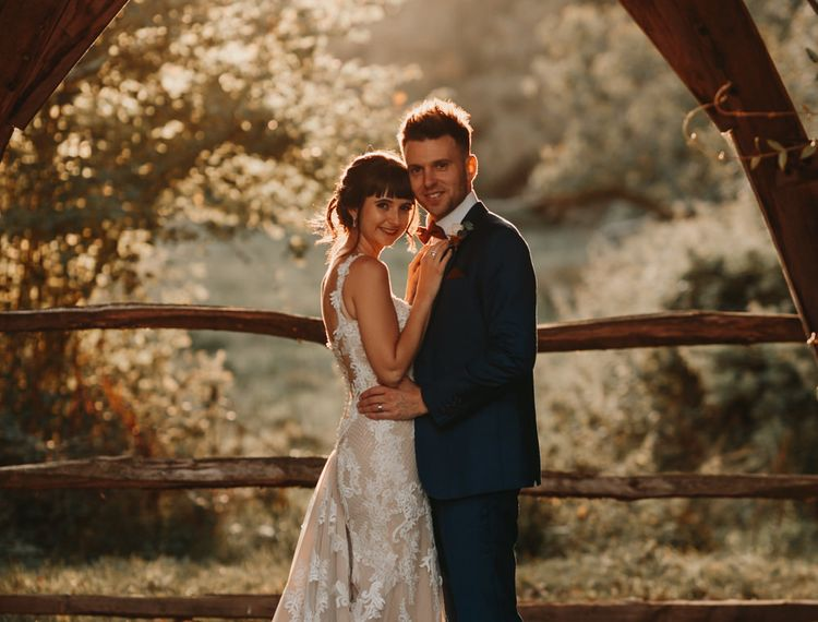 新郎和布鲁克林婚礼的婚礼