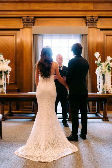 London Town Hall Wedding - Marylebone