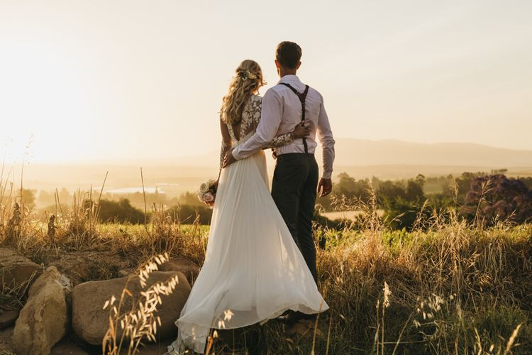 South Africa wedding for bride and groom