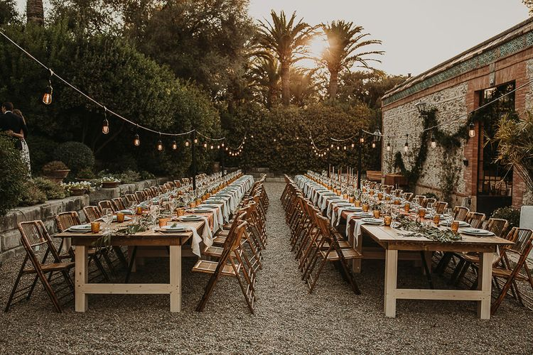 Andalusia wedding reception planned by Open The Door Events