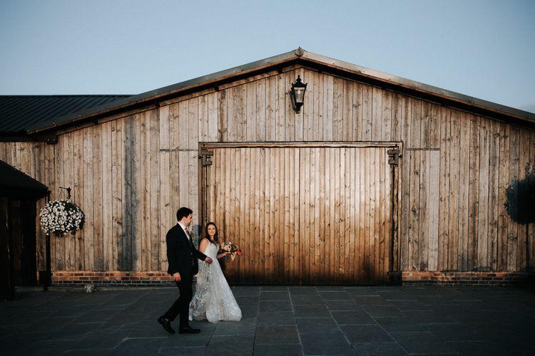 Micro wedding at Willow Marsh Farm