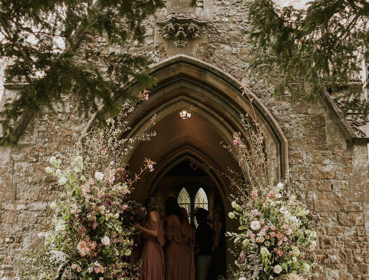 教堂的入口