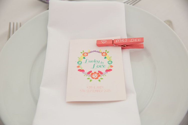 Handmade DIY wedding stationery for budget wedding