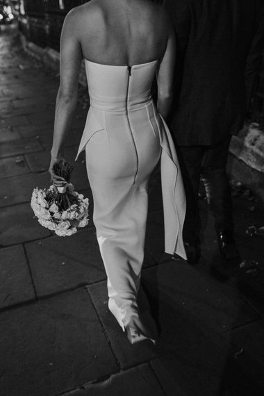Roland Mouret dress for London wedding