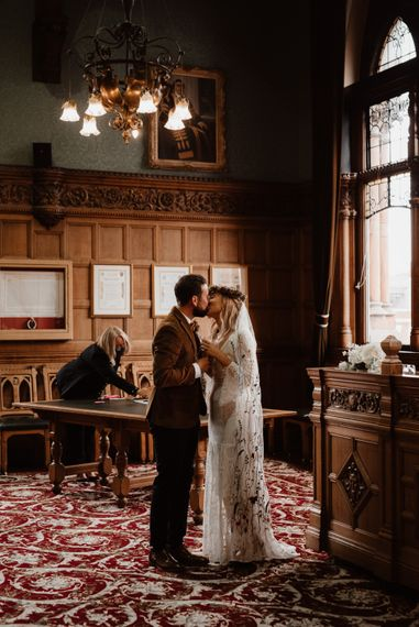 Chester Town Hall micro wedding