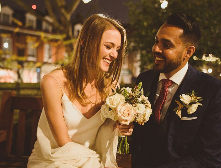 Wedding at Christmas in London