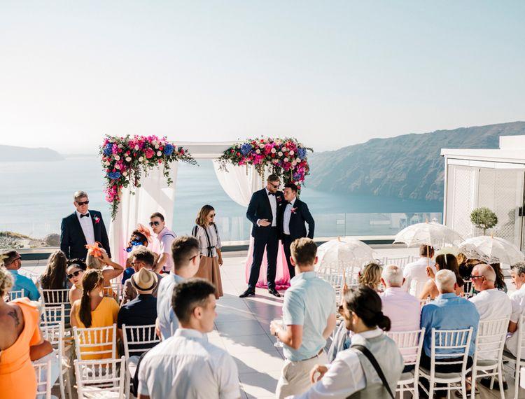 希腊婚礼的婚礼