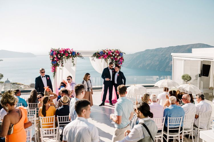 Greece destination wedding ceremony