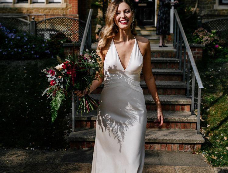 在婚礼上的婚礼上的婚纱