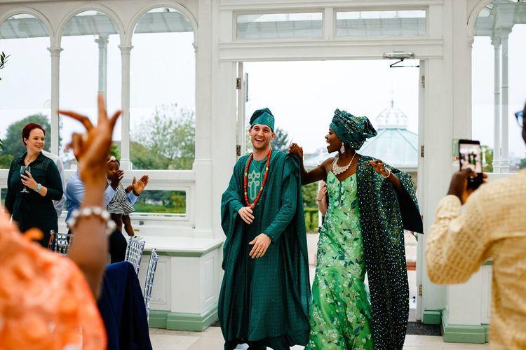 Nigerian money dance entrance