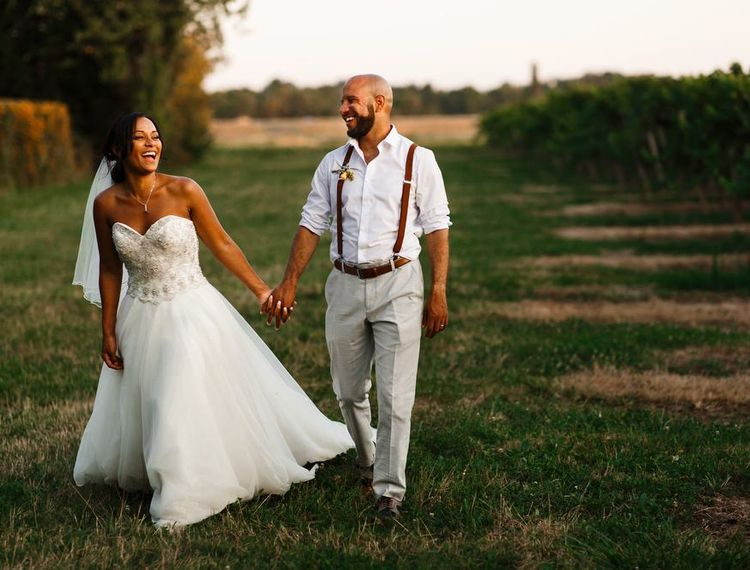 在波尔多和新郎婚礼上