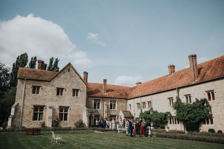 Notley Abbey country house wedding venue in Buckinghamshire