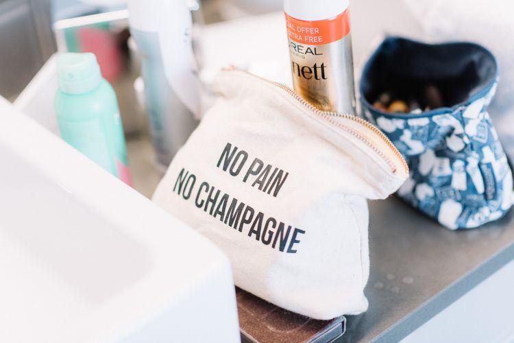 22   No pain no champagne