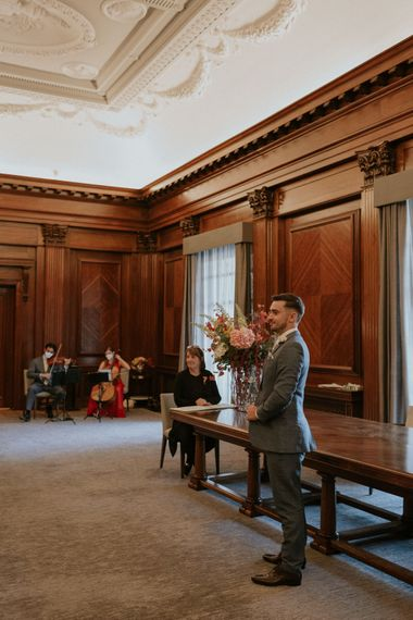 Old Marylebone Town Hall intimate wedding ceremony