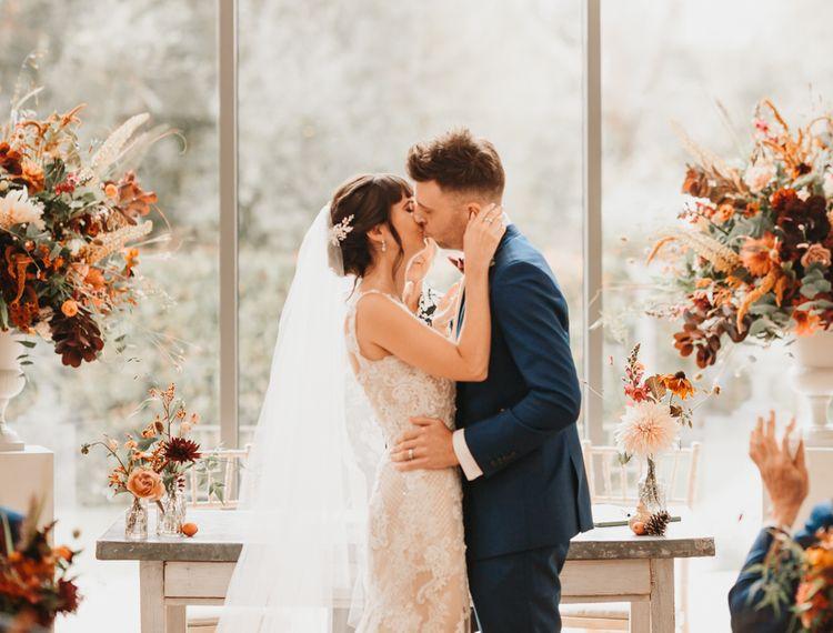 新郎和婚礼上的婚礼仪式