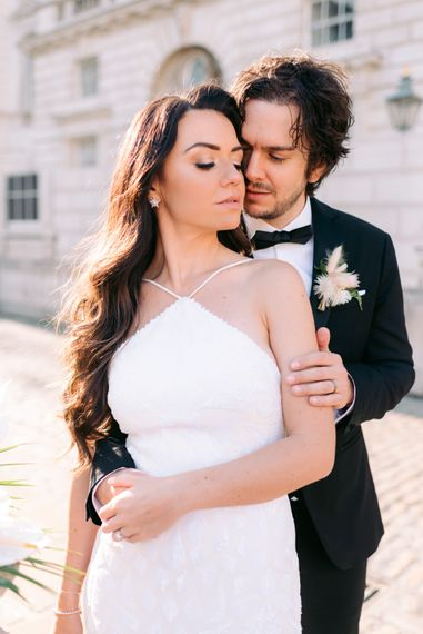 Dramatic wedding photo in london by Nkima Photography