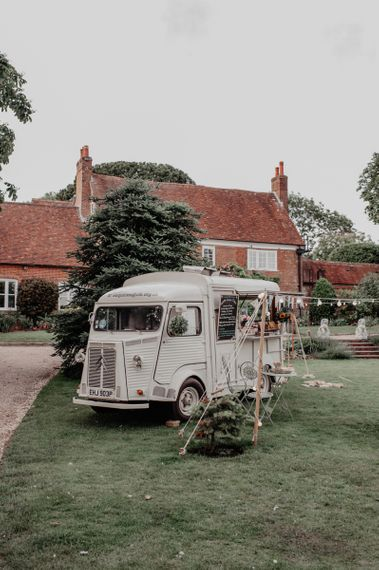Mobile Wedding Pizza Van