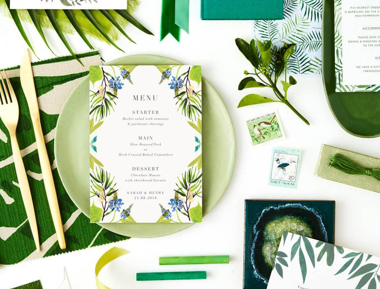 06.17 TheFold WeddingColourThemes Greenery Instagram