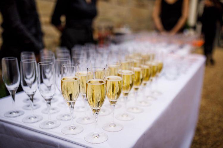 Caviar Chips Champagne Reception 1