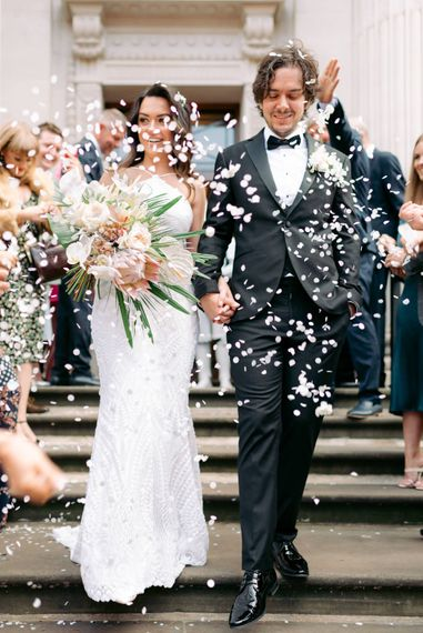 Storm trooper wedding surprise for London City wedding