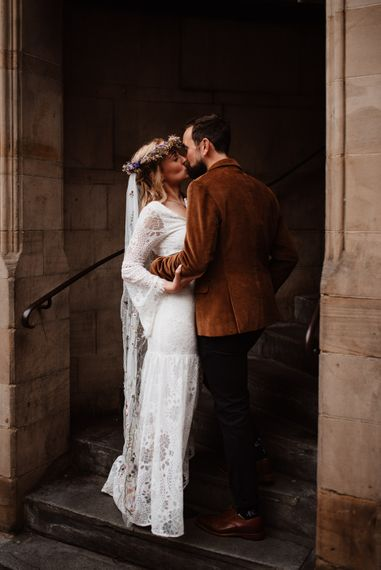 Intimate wedding portraits by Taylor-Hughes Photography