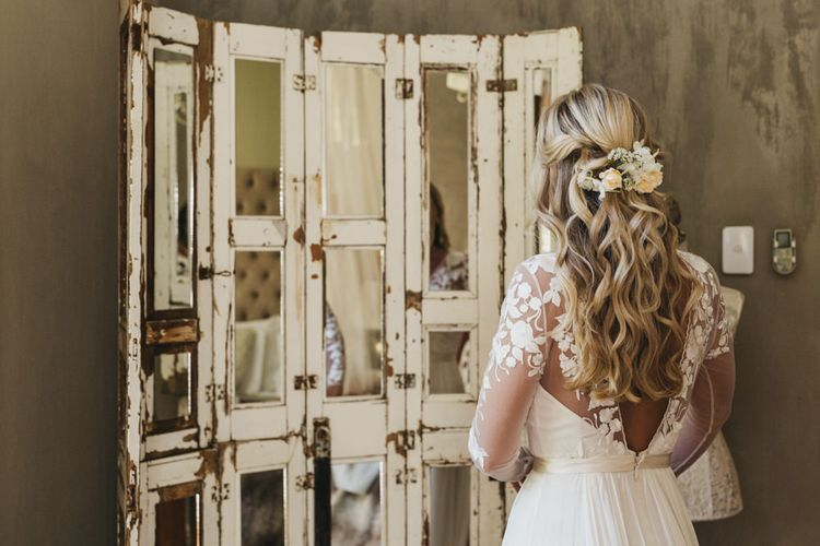 Bridal preparations for South Africa wedding