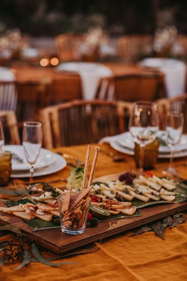 Grazing boards at Andalusia wedding