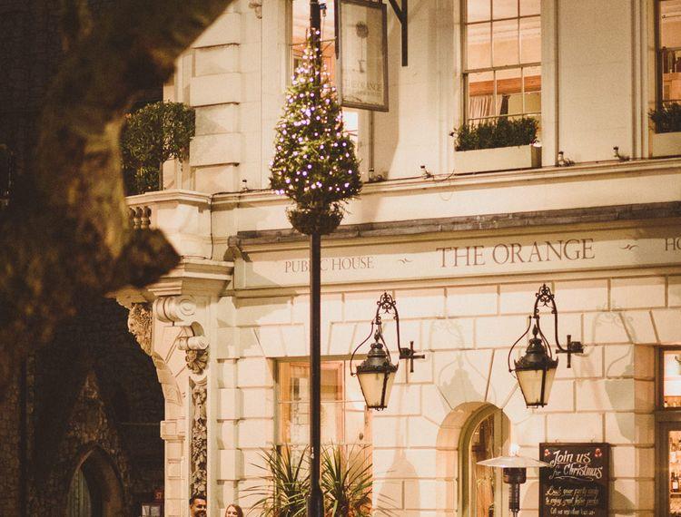 The Orange Chelsea December Wedding at Christmas