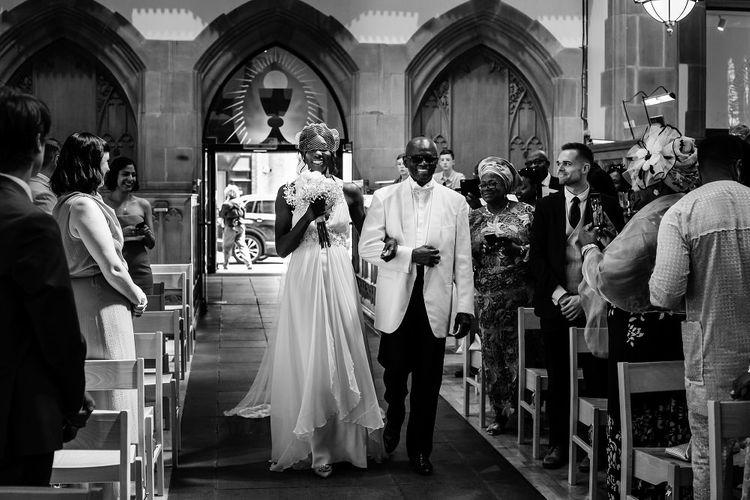 Bridal entrance at St Nicholas church in Liverpool