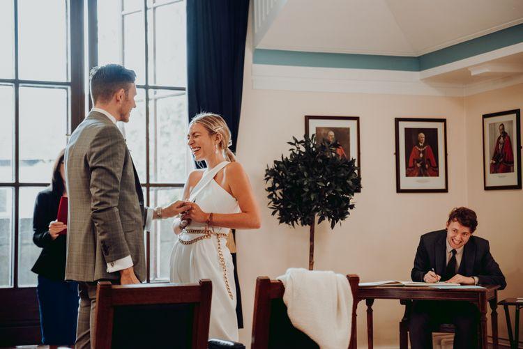 小市政厅,特拉福德微型婚礼仪式
