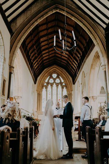 Canterbury church wedding ceremony